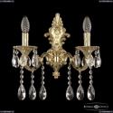 7201B14/2/175 A G Бра под бронзу из латуни Bohemia Ivele Crystal (Богемия), 7201