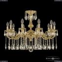 72101/10/250 A G Подвесная люстра под бронзу из латуни Bohemia Ivele Crystal (Богемия), 7201