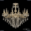 72101/12/300 B GW Подвесная люстра под бронзу из латуни Bohemia Ivele Crystal (Богемия), 7201