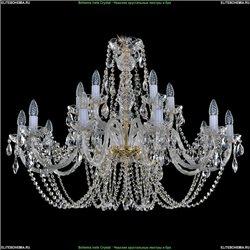 1406/10+5/400/G Хрустальная подвесная люстра Bohemia Ivele Crystal (Богемия)