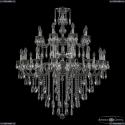 72101/16+8/360/2d B NB Подвесная люстра под бронзу из латуни Bohemia Ivele Crystal (Богемия), 7201