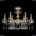 72101/6/210 A GW Подвесная люстра под бронзу из латуни Bohemia Ivele Crystal (Богемия), 7201