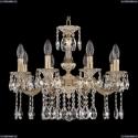 72101/8/175 A GW Подвесная люстра под бронзу из латуни Bohemia Ivele Crystal (Богемия), 7201