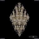 72101/8+8+16+8+8/360/5d B GB Подвесная люстра под бронзу из латуни Bohemia Ivele Crystal (Богемия), 7201