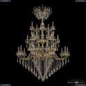 72118/20+10+5/520/3d B G Y1 Подвесная люстра под бронзу из латуни Bohemia Ivele Crystal (Богемия), 7218