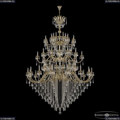 72118/32+16+16/755/3d B G Y3 Подвесная люстра под бронзу из латуни Bohemia Ivele Crystal (Богемия), 7218