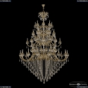 72118/32+16+16+8/755/4d B G Y3 Подвесная люстра под бронзу из латуни Bohemia Ivele Crystal (Богемия), 7218
