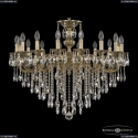 72201/16/300 B GB Подвесная люстра под бронзу из латуни Bohemia Ivele Crystal (Богемия), 7201