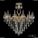 72301/12/360 B G Подвесная люстра под бронзу из латуни Bohemia Ivele Crystal (Богемия), 7201