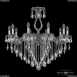 72302/10/300 B NB Подвесная люстра под бронзу из латуни Bohemia Ivele Crystal (Богемия), 7202