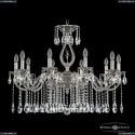 72401/10/300 A NB FD2M Подвесная люстра под бронзу из латуни Bohemia Ivele Crystal (Богемия), 7201