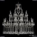 72401/16+8/360/2d A NB FH1M Подвесная люстра под бронзу из латуни Bohemia Ivele Crystal (Богемия), 7201