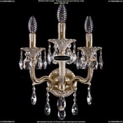 1800B/3/150+UP125IV/B/GW Хрустальное бра Bohemia Ivele Crystal