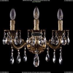 1800B/3/CK175IV/A/GB Хрустальное бра Bohemia Ivele Crystal