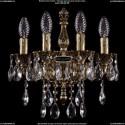 1800B/4/CK125IV/B/GB Хрустальное бра Bohemia Ivele Crystal