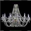 1406/12/400/G Хрустальная подвесная люстра Bohemia Ivele Crystal (Богемия)