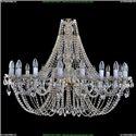 1406/18/400/G Хрустальная подвесная люстра Bohemia Ivele Crystal (Богемия)