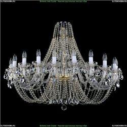 1406/20/400/G Хрустальная подвесная люстра Bohemia Ivele Crystal (Богемия)