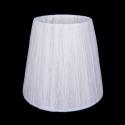 SH32 Абажур белый индийский шелк Bohemia Ivele Crystal