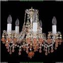 1410/5/141/G/V7010 Хрустальная подвесная люстра Bohemia Ivele Crystal