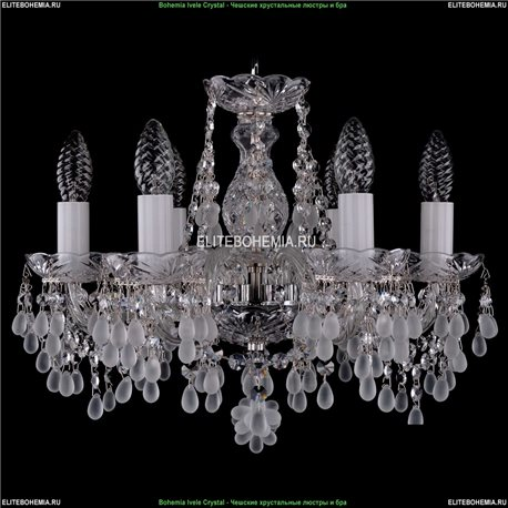 1410/6/141/Ni/0300 Bohemia Ivele Crystal, Чешская Подвесная люстра с хрустальным рожком