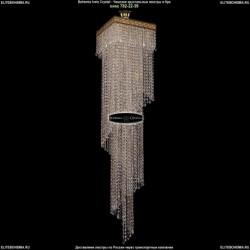 8317/30-140/G/Drops Большая хрустальная люстра каскадная Bohemia Ivele Crystal