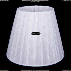 SH2-160 Абажур тряпочный на лампочку Bohemia Ivele Crystal