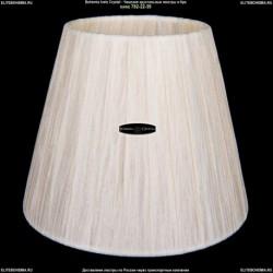 SH33-160 Абажур тряпочный на лампочку Bohemia Ivele Crystal