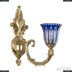 7109B15/1/210 G P2 U Clear-Blue/H-1H Бра Bohemia Ivele Crystal (Богемия)
