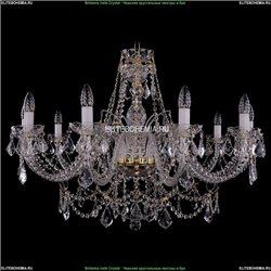 1411/10/360-66/G/Leafs Хрустальная подвесная люстра Bohemia Ivele Crystal (Богемия)