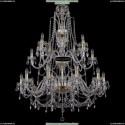 1411/20/360-115/2d/G Хрустальная большая люстра Bohemia Ivele Crystal