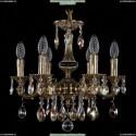 1702/6/CK125IV/A/GB/K701 Хрустальная подвесная люстра Bohemia Ivele Crystal