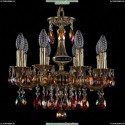 1702/8/CK125IV/A/GB/K711 Хрустальная подвесная люстра Bohemia Ivele Crystal