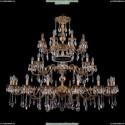 1732/16+8+8/300+250/A/FP Хрустальная большая люстра Bohemia Ivele Crystal
