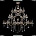 1732/16+8+8/300+250/B/GW Хрустальная большая люстра Bohemia Ivele Crystal