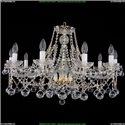 1413/10/300/G/Balls Хрустальная подвесная люстра Bohemia Ivele Crystal
