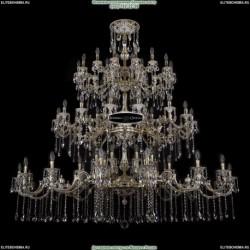 1739/32+24+24/410+335/B/GB Хрустальная большая люстра Bohemia Ivele Crystal (Богемия)