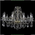 1413/10/300/L Хрустальная подвесная люстра Bohemia Ivele Crystal (Богемия)