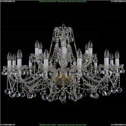 1413/12+6/360/Balls Хрустальная подвесная люстра Bohemia Ivele Crystal