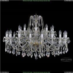 1413/16+8/400/G Хрустальная подвесная люстра Bohemia Ivele Crystal