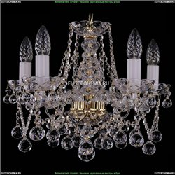 1413/5/141/G/Balls Хрустальная подвесная люстра Bohemia Ivele Crystal