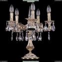 1702L/5/CK125IV-45/A/GW Хрустальная настольная лампа Bohemia Ivele Crystal