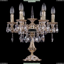 1702L/6/CK125IV-45/A/GW Хрустальная настольная лампа Bohemia Ivele Crystal