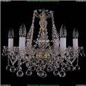 1413/6/165/G/Balls Хрустальная подвесная люстра Bohemia Ivele Crystal
