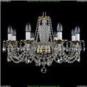 1614/8/200 Хрустальная подвесная люстра Bohemia Ivele Crystal
