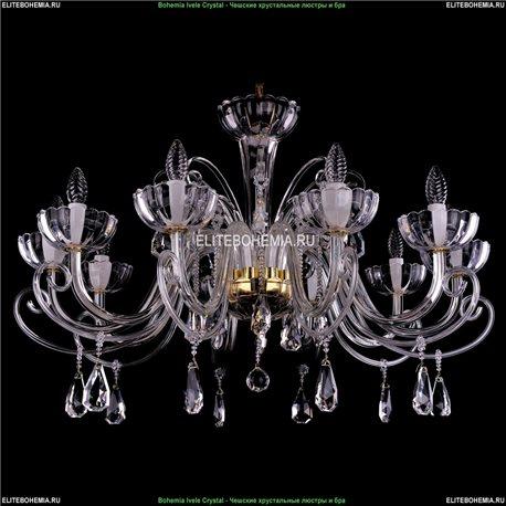 1333/10/380/G Хрустальная подвесная люстра Bohemia Ivele Crystal (Богемия)