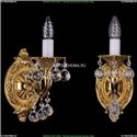 1700/1/B/G/Balls Бра с элементами художественного литья и хрусталем Bohemia Ivele Crystal (Богемия)