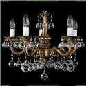 1701/5/181/A/FP/Balls Хрустальная подвесная люстра Bohemia Ivele Crystal