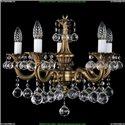 1701/5/A/FP/B Хрустальная подвесная люстра Bohemia Ivele Crystal (Богемия)