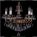 1701/5/B/FP/Balls Хрустальная подвесная люстра Bohemia Ivele Crystal (Богемия)